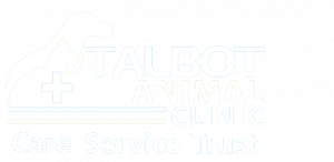 logo of talbot animal clinic in st thomas ontario